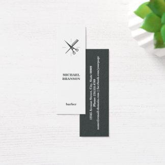Friseur-unbedeutende Vertikale Scissor Kamm Mini Visitenkarte