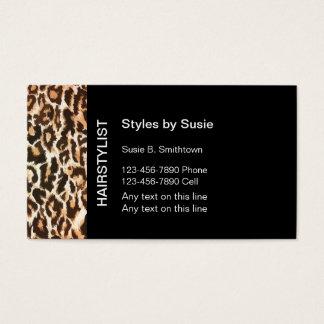 Friseur-Visitenkarten Visitenkarte