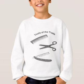 Friseur-Werkzeuge des Handels Sweatshirt
