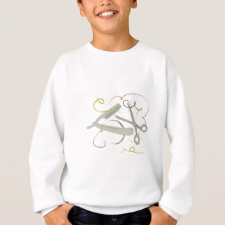 Friseur-Werkzeuge Sweatshirt