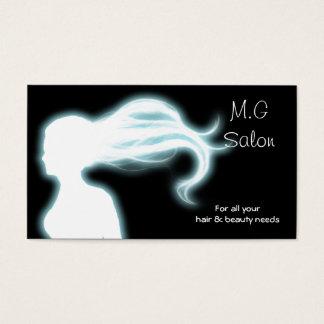 Friseursalon businesscards visitenkarten