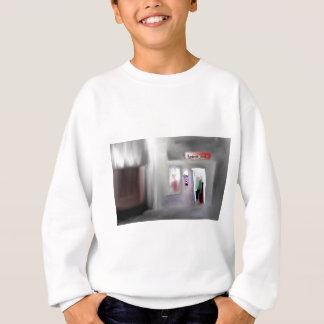 Friseursalon-Entwurf Sweatshirt