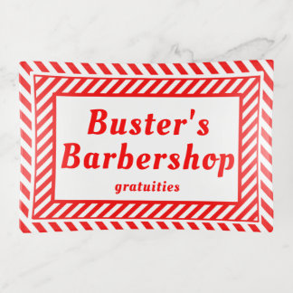 Friseursalon-Gratifikationen Dekoschale