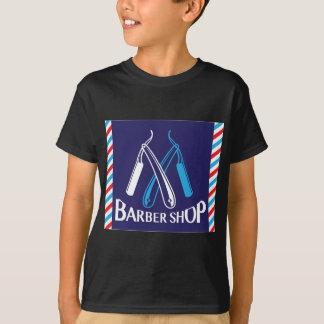 Friseursalon-Logo-Ikonen-Vektor T-Shirt