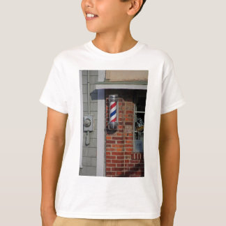 Friseursalon-Pole-Vektor T-Shirt