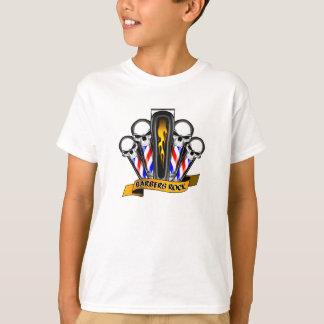Friseursalon-Quartett: Friseur-Felsen T-Shirt