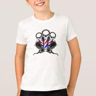 Friseursalon-Schädel-Trio T-Shirt