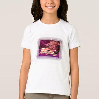 Friseursalon-Spiegel-Schablone T-Shirt