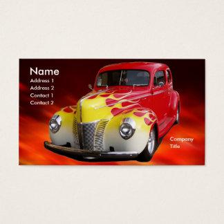 Frisiertes Auto Deluxe Visitenkarte