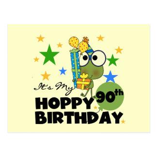 Froggy-hopfenreicher 90. Geburtstag Postkarte