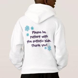 Frohe Feiertage Autismus-Bewusstseins-Sweatshirt - Hoodie