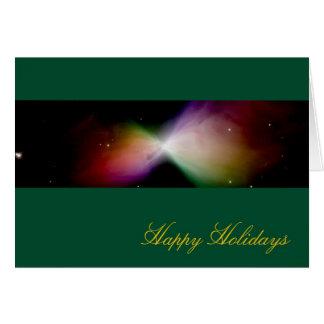 Frohe Feiertage Bumerang-Nebelfleck - Hubble Karte