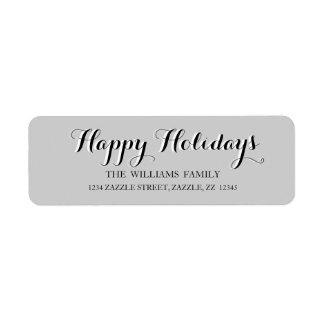 FROHE FEIERTAGE Skript-moderne Weihnachtsadresse