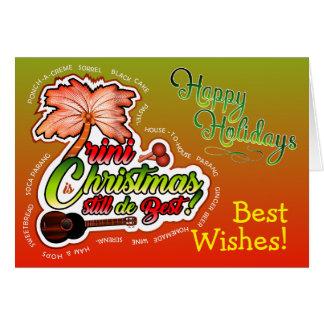Frohe Feiertage/Trini Weihnachten Karte