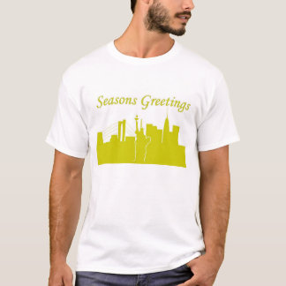 Frohe Festtage NYC T-Shirt