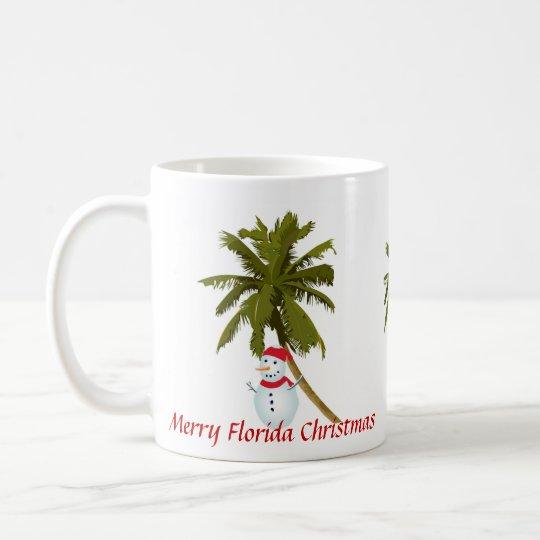 Frohe Florida-Weihnachten Tasse