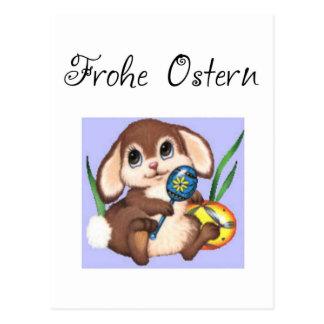 Frohe Ostern Postkarte