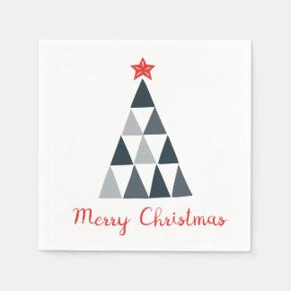 Frohe Weihnacht-Cocktail-Papierservietten Papierservietten