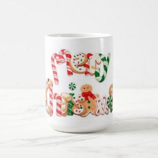 Frohe Weihnacht-Feiertags-Kaffeetasse/Tasse Kaffeetasse