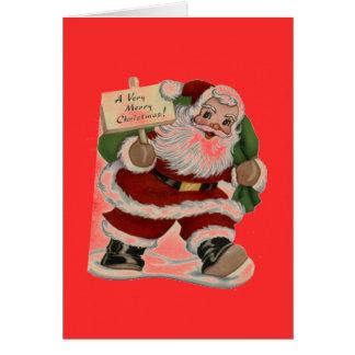 Frohe Weihnacht-Gruß-Karte Karte