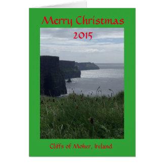 Frohe Weihnacht-Irland-Feiertags-Gruß-Karte Grußkarte