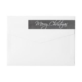 Frohe Weihnacht-Kalligraphie-Skript-Tafel