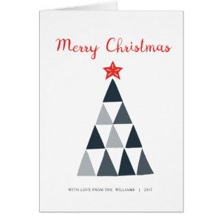Frohe Weihnacht-Karte Karte
