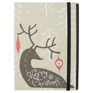 Frohe Weihnacht-Ren gemütlich