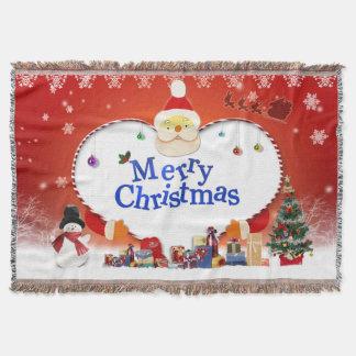 Frohe Weihnacht-Sankt Liebe Decke