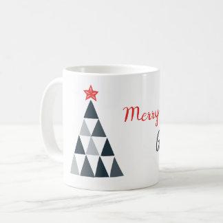 Frohe Weihnacht-Tasse Kaffeetasse