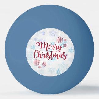 Frohe Weihnachten 2 Ping-Pong Ball