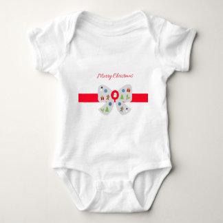 Frohe Weihnachten Baby Strampler