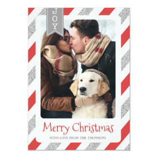 Frohe Weihnachten der WeihnachtsFotokarte Karte