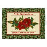 Frohe Weihnachten deutsches Weihnachten - Grußkarte