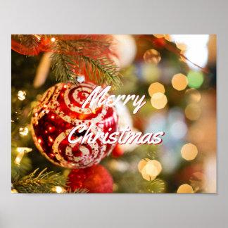 Frohe Weihnachten durch Lagerhalter Poster
