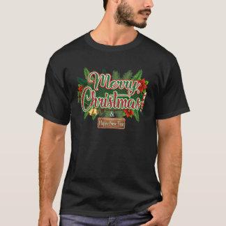 Frohe Weihnachten - glückliches neues T-Shirt