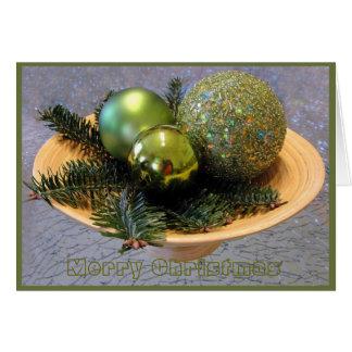 frohe Weihnachten, greetingcard Karte