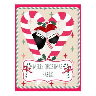 Frohe Weihnachten Habibi Weihnachtskarte Postkarte