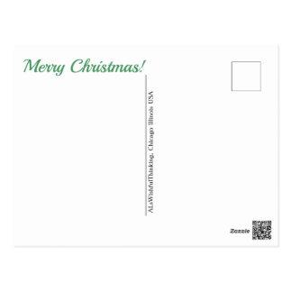 Frohe Weihnachten!  (- keine Adresse) Postkarte