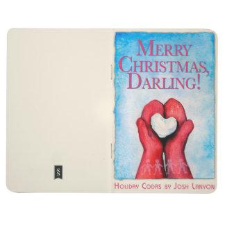 Frohe Weihnachten, Liebling! Taschenzeitschrift Taschennotizbuch