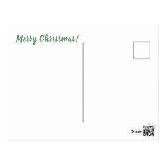 Frohe Weihnachten! Postkarte