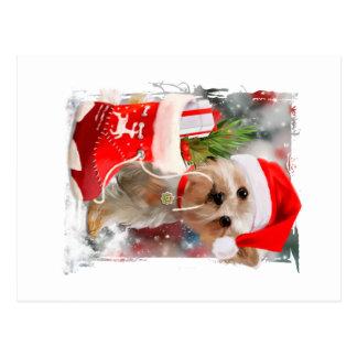 """""""Frohe Weihnachten """" Postkarte"""