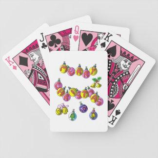 Frohe Weihnachten; Spielkarten
