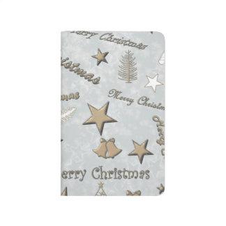 Frohe Weihnachten Taschennotizbuch