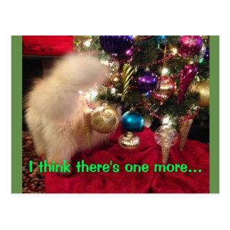 Frohe Weihnachten u. guten Rutsch ins Neue Jahr Postkarte
