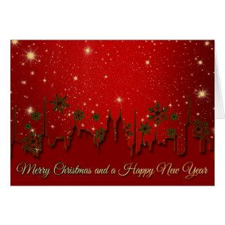 Frohe Weihnachten und eine guten Rutsch ins Neue Karte