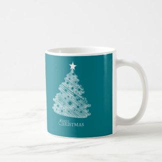 frohe Weihnachten und glückliches newyear Kaffeetasse