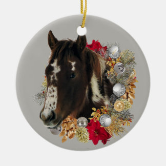 Frohe Weihnachten von Brayley Keramik Ornament