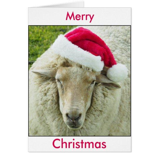 Frohe Weihnachten von Elvis Grußkarte