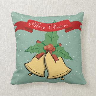 Frohe Weihnachten - Weihnachtsbell-Kissen Kissen